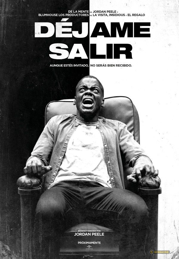 Noticias de cine y series: 'Déjame salir': Un aterrado Daniel Kaluuya protagoniza el póster en español