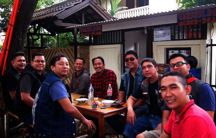With bro Tora and bro Ringgo, the Nongols MC.....
