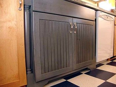 Best 25 bead board cabinets ideas only on pinterest for Beadboard wallpaper on kitchen cabinets