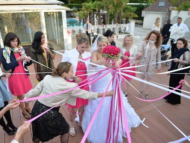 La tradition du lancé de bouquet de la mariée. Comment la faire de façon ludique et amusante ? - Avant le mariage - Forum Mariages.net