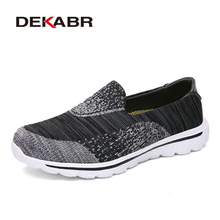 Hommes Sneakers Automne Tissu à maille tricotée respirante Chaussures décontractées à bas prix Chaussures de sport à couleurs mélangées ( Color : Black , Size : 40 )