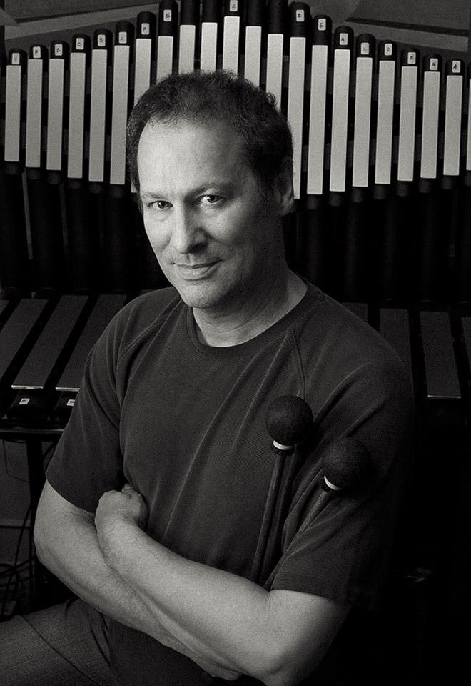 cliff martinez composer | Cliff Martinez with his Gamelan designed by Richard Cooke - photo by ...