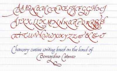 [Introductory exemplar of my everyday italic handwriting]