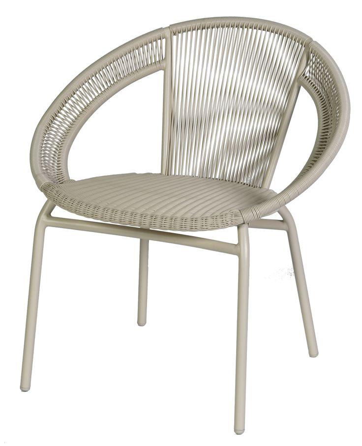 Isabelle stapelbare stoel Max & Luuk