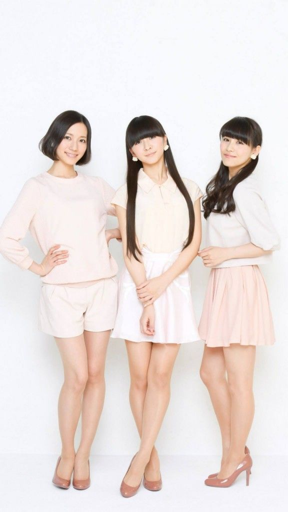 Perfume/メンバー5 iPhone Wallpaper iPhone壁紙