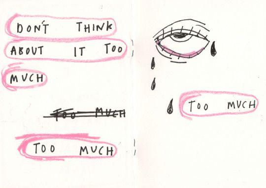 Don't think about it too much.