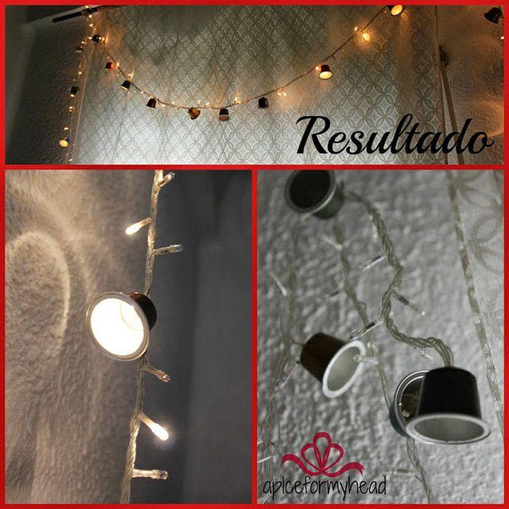 Cómo hacer guirnaldas con luz para decorar en Navidad | Aprender manualidades es facilisimo.com
