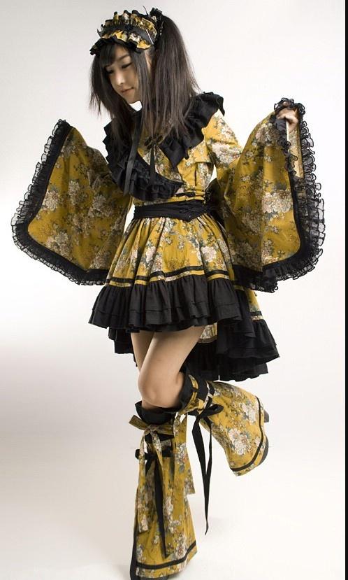 (lolita) kimono inspired