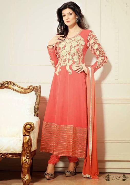 This is the image gallery of Sushmita Sen Anarkali Frocks Dresses 2014 for Girls. You are currently viewing Sushmita Sen Anarkali Frocks 2014 for Girls (3). All other images from this gallery are given below. Give your comments in comments section about this. Also share stylespoint.com with your friends. Sushmita Sen Bollywood Anarkali Dresses 2014. #anarkalifrocks, #indiandresses, #anarkalisuits, #sushmitasen