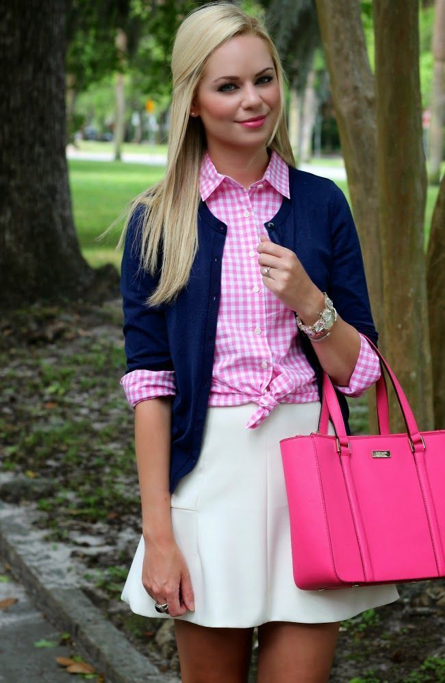 cute preppy outfit!