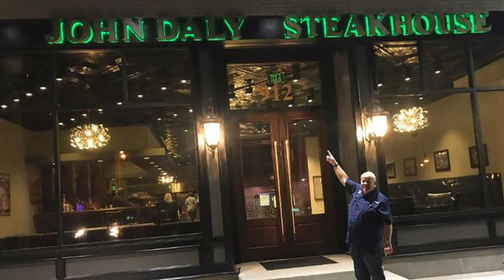 John Daly opens John Daly Steakhouse in Conway, Arkansas