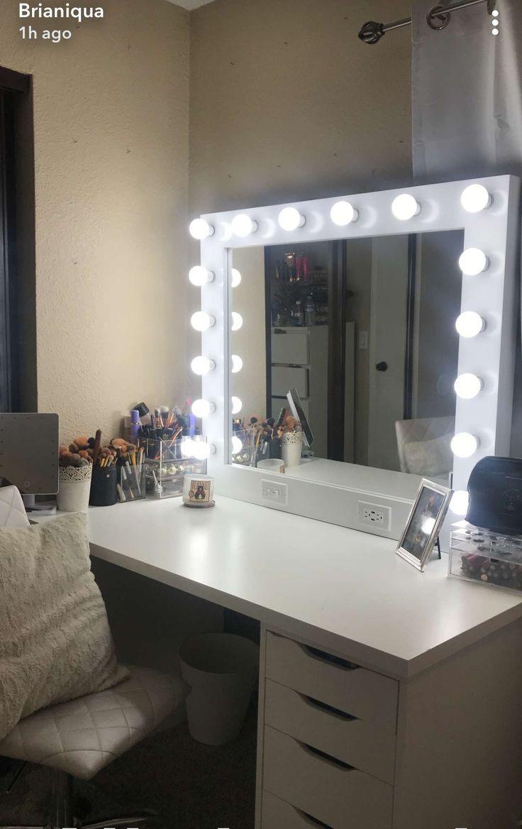 Glam Makeup Vanity Beauty Room Vanity Glam Room Bedroom Vanity