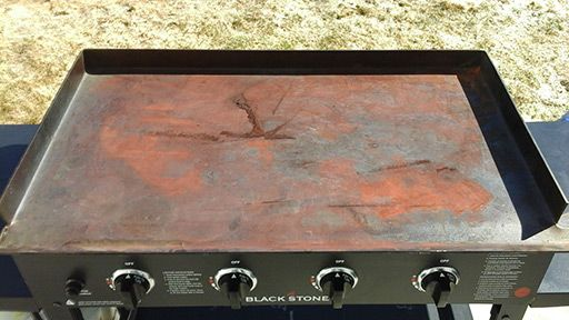 The Blackstone griddle tops are made of steel and all steel, naturally, wants to rust. In order for rust to occur you need exposure to air and water. This is why if you live in an area with high humidity you will need to be extra vigilant to protect your griddle top from the elements. Not …