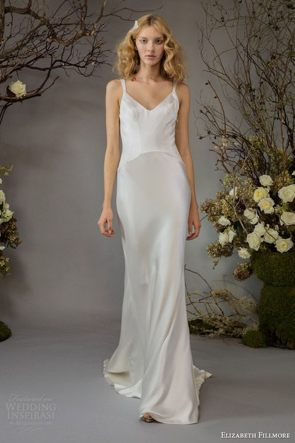 elizabeth fillmore wedding dresses fall 2014 giselle bridal gown beaded back