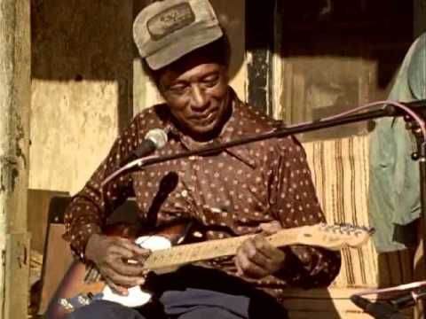 """The late great RL Burnside teaching some of his superb modal blues, """"Long Haired Doney"""" to a friend. El Blues Jondo! http://www.myspace.com/jaybeerodriguez -..."""