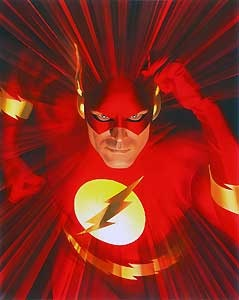 Mythology - The Flash - Alex Ross - World-Wide-Art.com - $400.00 #AlexRoss