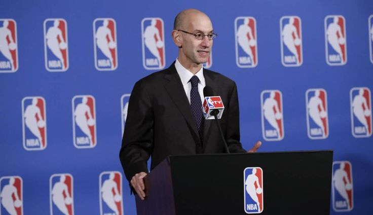 Adam Silver shot into the front line when he defused a possible crisis when a racism storm was cast over the NBA. As commissioner of the NBA, Silver had to work hard and fast, which he did, sacking the culprit. Credit: fortune.com