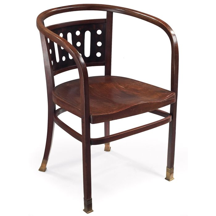 Otto Wagner Armchair By J Amp J Kohn 0439 Seating Ie Chairs