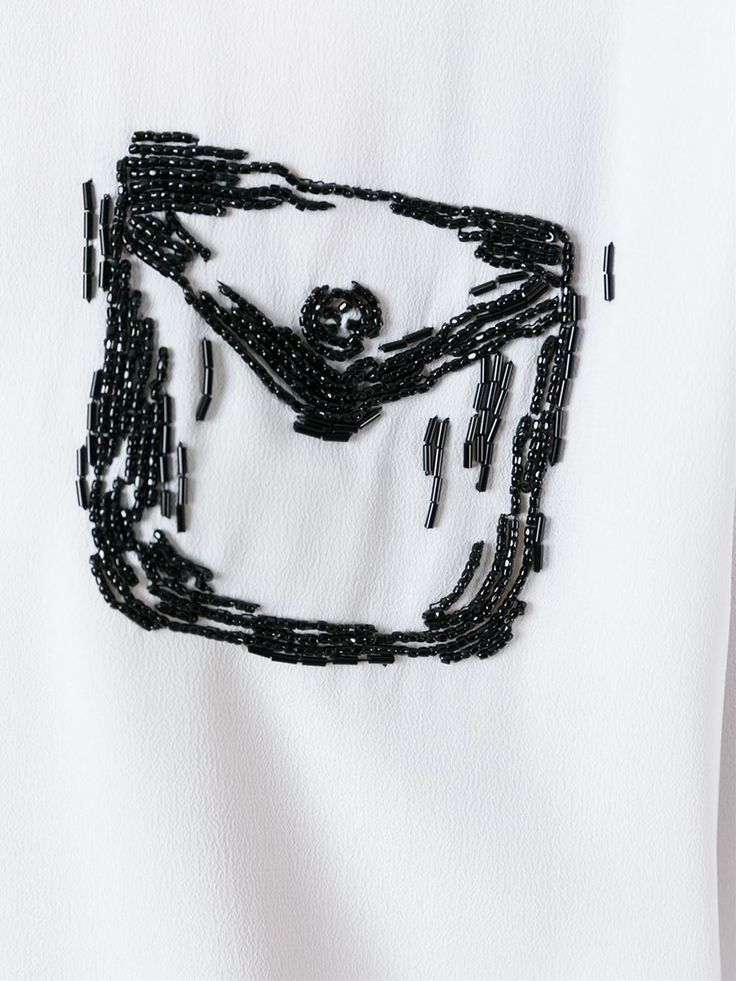 Nº21 Beaded Pocket Shirt - Tiziana Fausti - Farfetch.com
