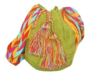 SeaSalt Wayuu Mochila Handmade Shoulder Bag WA-1218,