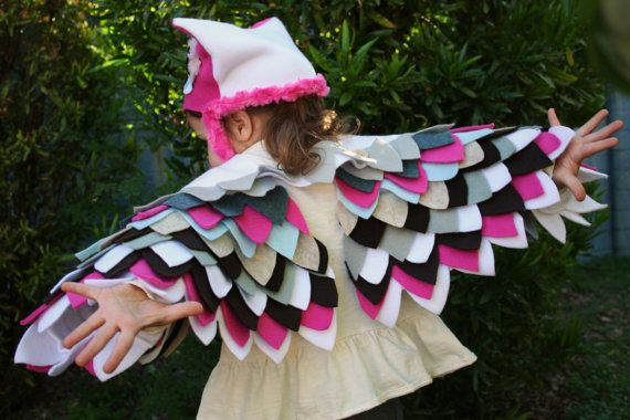 {Owl Costume in Pink} this is so darling!