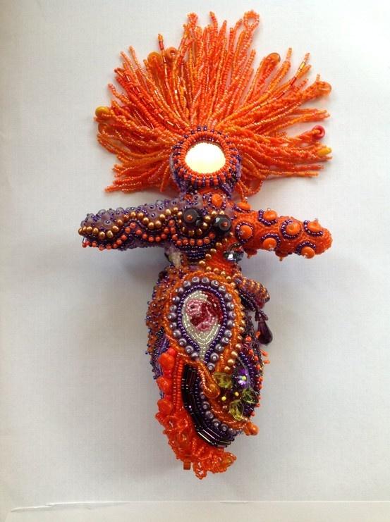Beaded doll by Yvonne Kuriata   Spirit & Goddess Dolls ...
