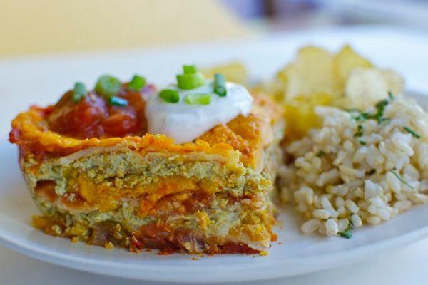 Lasagna, Green Planets, Gluten Free, Mexican Lasagna, Lasagna Vegans ...