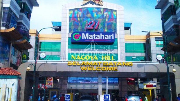 Batam Nagoya Hill Shopping Mall Pusat Perbelanjaan Terlengkap di Pulau Batam