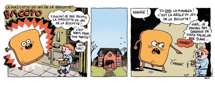 La mascotte du jeu de la biscotte, Biscoto