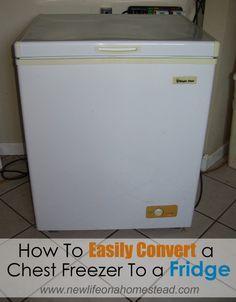 How To Convert a Chest Freezer to Fridge. .. alt to a sunfrost