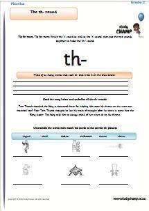 Phonics : Phonics: th- sound