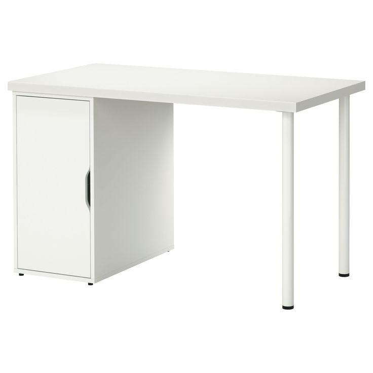 Linnmon Alex Table White 120x60 Cm Shop Today Ikea Ikea Writing Desk Ikea Ikea Computer Desk