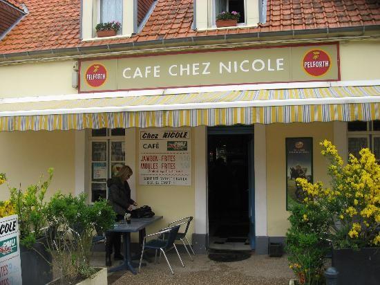Moules frites at Chez Nicole - Wissant, Normandië, France.