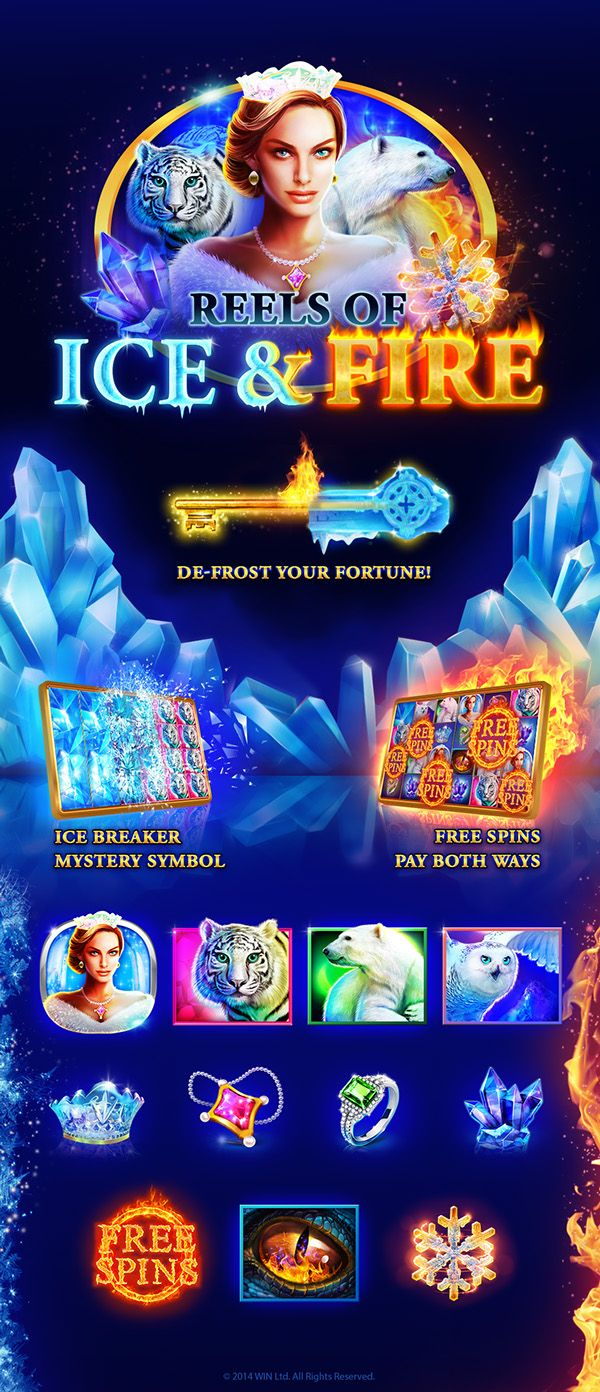 Ice & Fire Slot on Behance