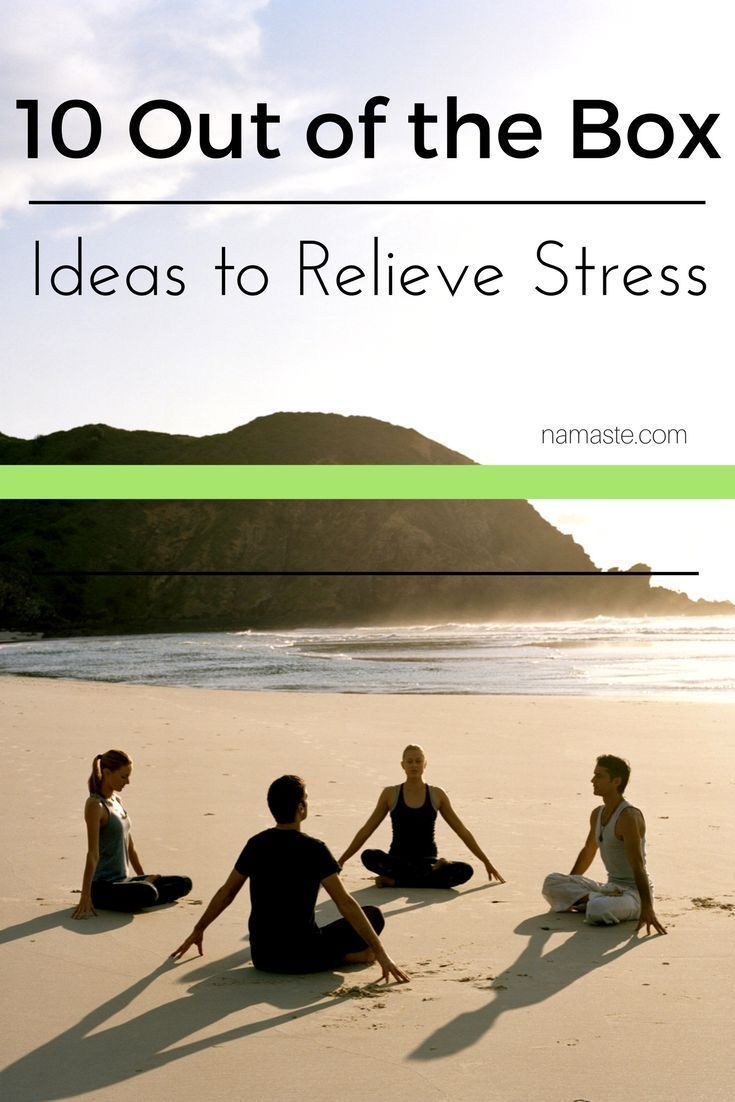 10 Out of the Box Ideas for Relieving Stress (scheduled via http://www.tailwindapp.com?utm_source=pinterest&utm_medium=twpin&utm_content=post144671821&utm_campaign=scheduler_attribution)