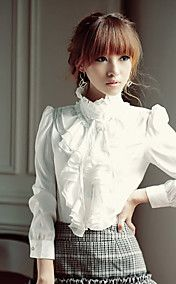 Women's Tribune van Collar Ruffle Overhemd va... – EUR € 14.84