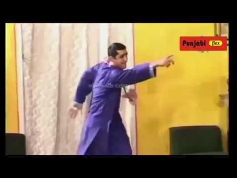Pakistani Punjabi Stage Drama Full Comedy, Zafri Khan Funny Song Best Pe...