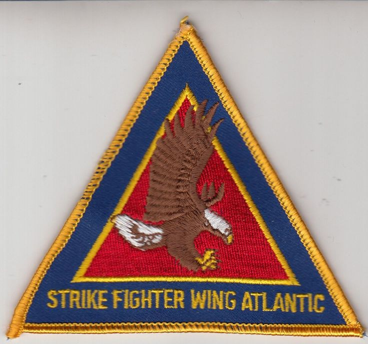 STRIKE FIGHTER WING ATLANTIC COMMAND CHEST PATCH