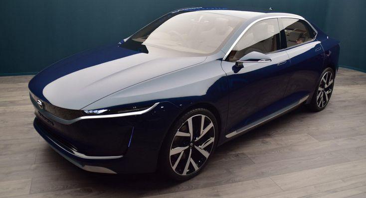 Tata's EVision Sedan Concept Previews A Quirky Compact 4-Door #news #Concepts