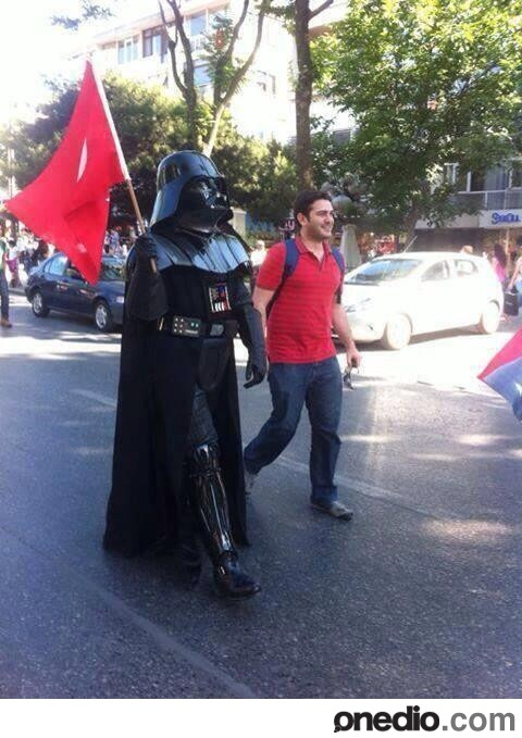 World Must See. May the Jedi force be with you, free people of Turkey