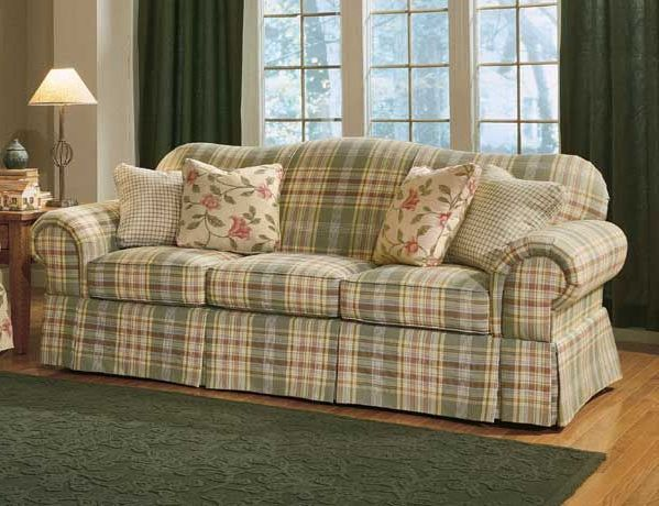Image Result For Plaid Couch With Images Country Sofas Plaid Sofa Plaid Couch