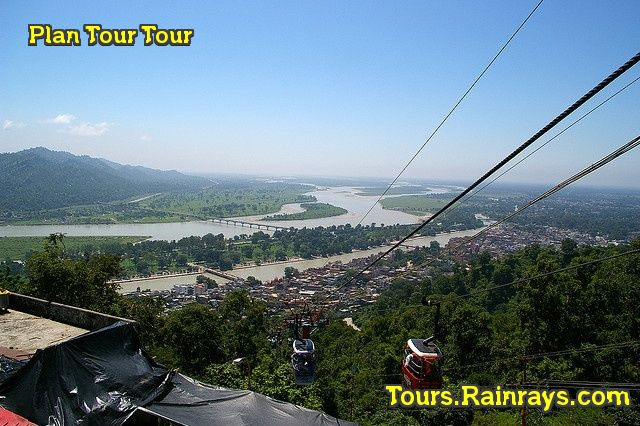 Tourist Attraction India:Haridwar look from  Mansa Devi