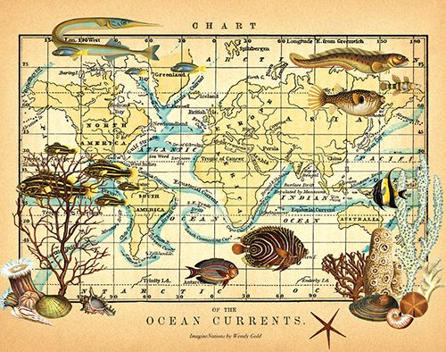 74 best Mystical, Magical Maps (and Posters) images on Pinterest - fresh wendy gold world map