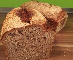 Unser Schulbrot - leckeres Dinkelvollkorn-Roggen-Brot - ganz schnell!!!