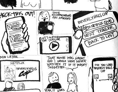 Storyboard, Illustration, Sketches