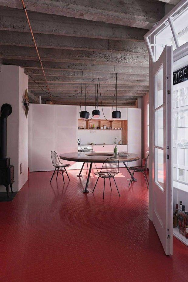 Cor ousada revoluciona estética industrial