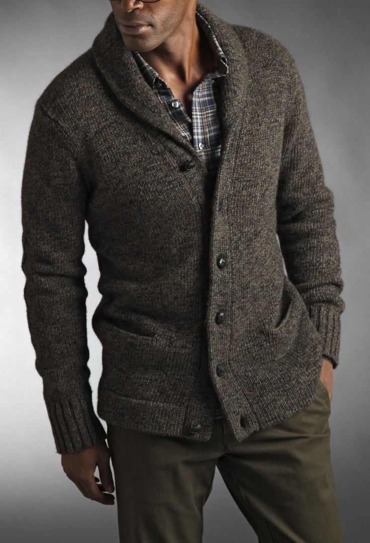 Tweed Cardigan by Vince. Like a really cool Mr. Rogers. $189.90