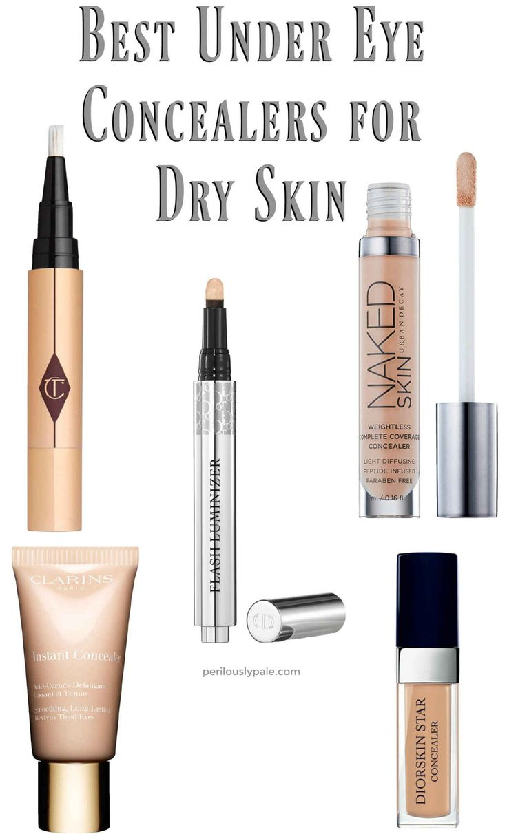 Best Under Eye Concealers for Dry Skin