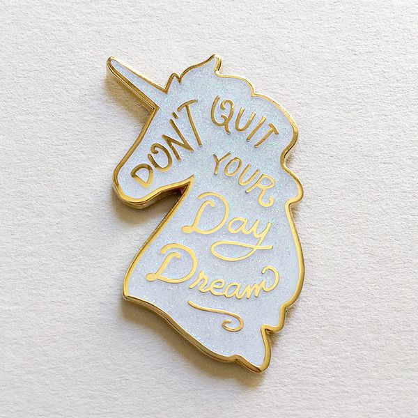 Unicorn Day Dreams Pin