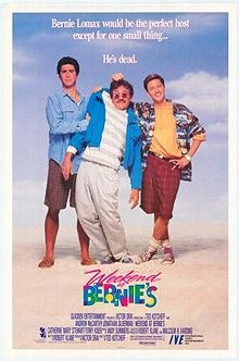 Guilty Pleasure: Weekend at Bernies. It's the greatest 80's comedy based around a dead guy ever! (the other one, was Weekend at Bernies 2) 80's soundtrack, 80's styles & 80's young adult slapstick.